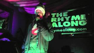 The Rhyme Along - Hip Hop Karaoke LA -  01.12.13 - Dr. Bombay by Ted tha Funky Homosapien