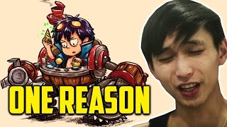A REASON TO HATE 77 MIN GAME ◄ SingSing Moments Dota 2 (Jan 6, 2017 Stream)