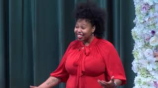 "Myth-making in America | Deborah ""D.E.E.P."" Mouton | TEDxHoustonWomen"