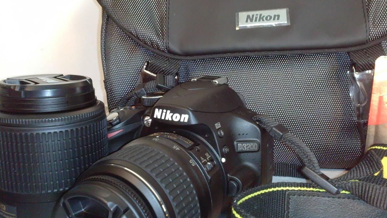 Camera Hd Dslr Camera With Video high volts entertainment unboxing nikon d3200 24mp full hd video dslr camera