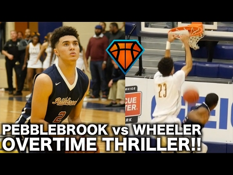Pebblebrook vs Wheeler Round 2 Ends In THRILLING OT Fashion!! | College-Like Atmosphere