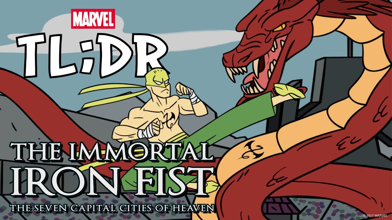 Immortal Iron Fist: The Seven Capital Cities of Heaven in 3 Minutes- Marvel TL;DR