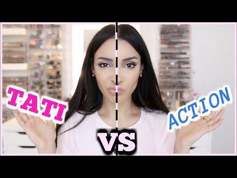 TATI vs ACTION : COMBAT DU MAKE UP PAS CHER !