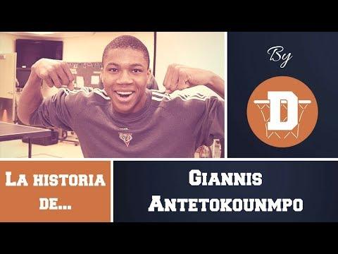 La historia de Giannis Antetokounmpo