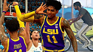 NBA 2K20 MyCAREER: The Journey #21 - TAUNTING UNC FANS AFTER HITTING BIG 3's! ROC VS COLE ANTHONY!