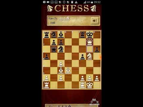 Chess game load on smartphone and catch screen saver
