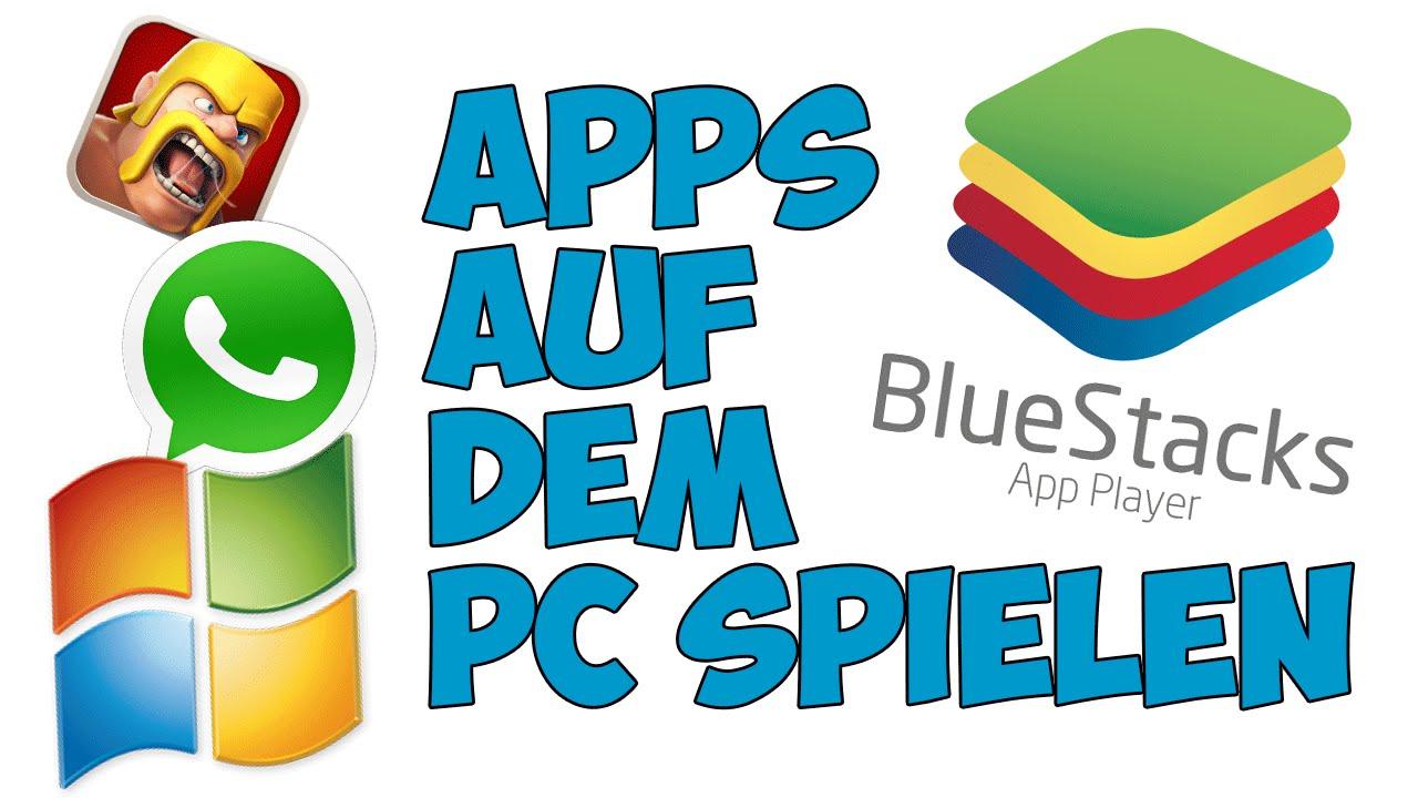 apps auf pc spielen