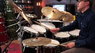 Ludwig Classic Maple drum set demo