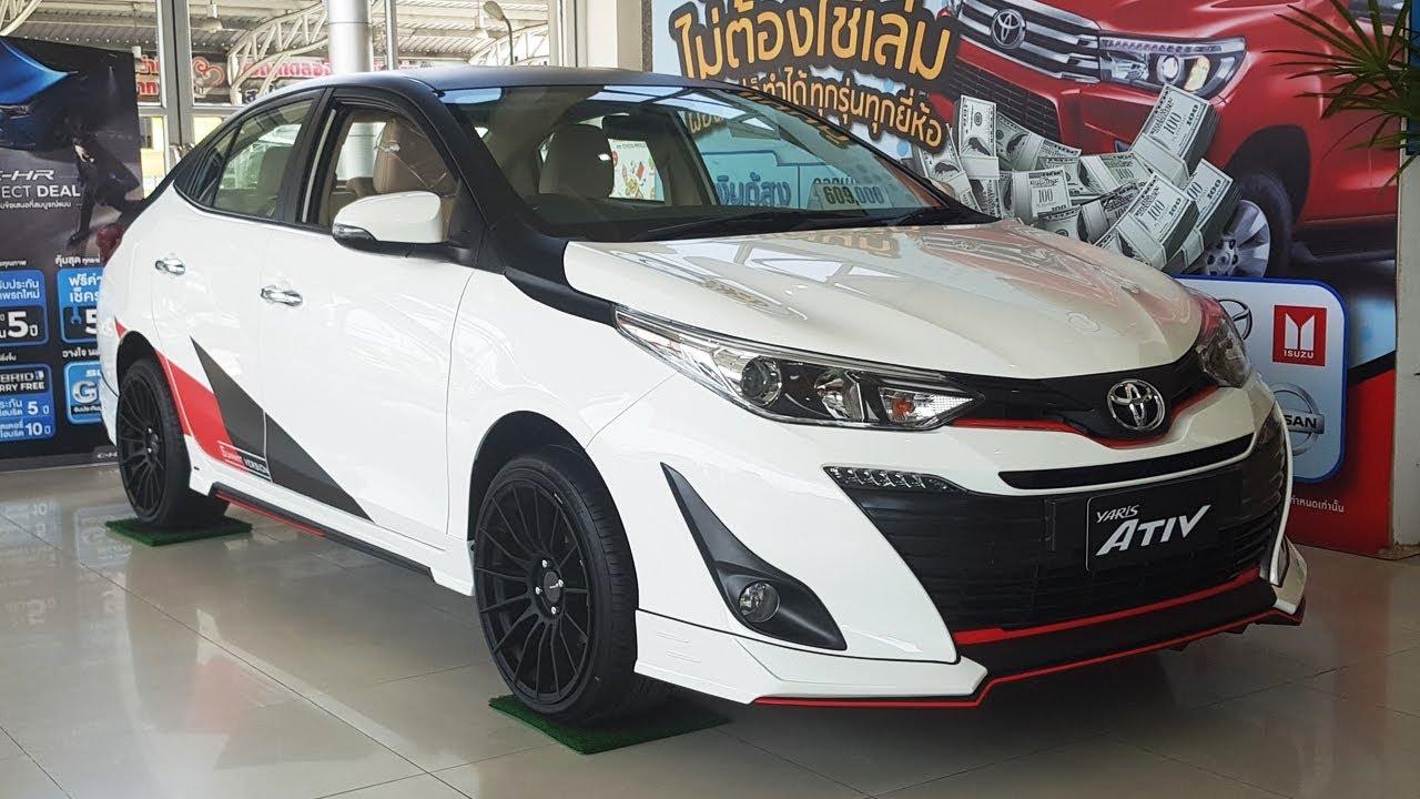 toyota yaris ativ trd harga grand all new avanza 2016 1 2 g sedan แต ง ราคา 609 000 บาท youtube