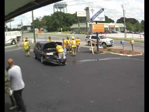 Accident at Computer Exchange on Timberlake Rd Lynchburg VA on 7 14 2013