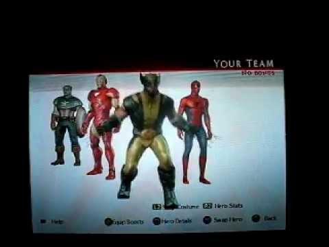 Marvel ultimate alliance 2 dlc download ps3