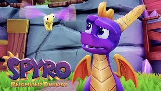 Ależ On Jest Słodki  First Look: Spyro Reignited Trilogy