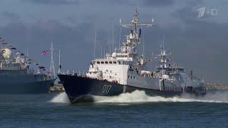 День ВМФ встретили на самом западном морском рубеже, где базируется наш флот.