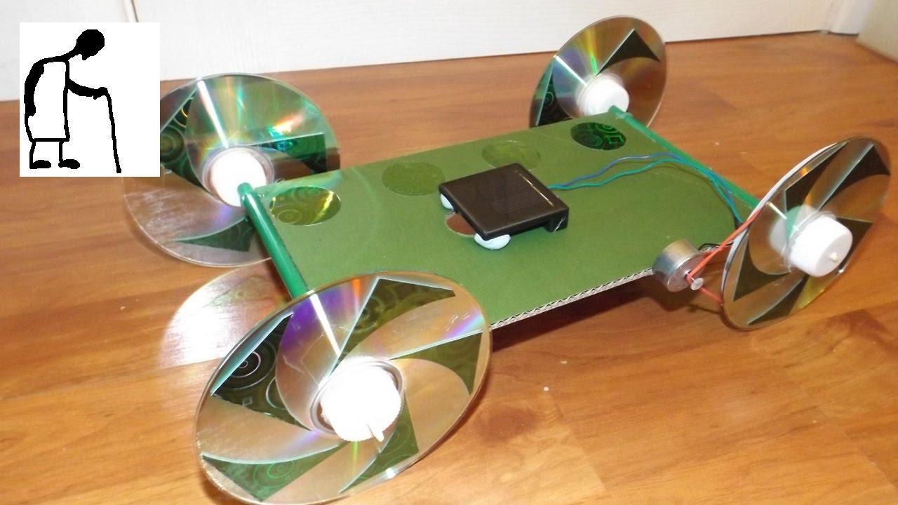 Solar Powered Car for Anthony Belcher - YouTube