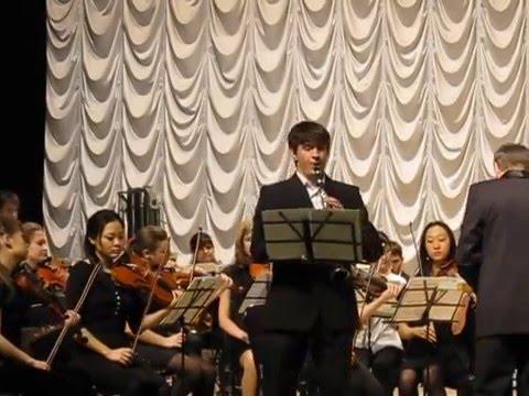 К.М. фон Вебер - Концерт для кларнета с оркестром