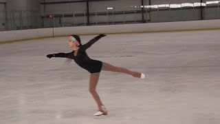 Diana Nightingale - Double Salchow - Slow Motion