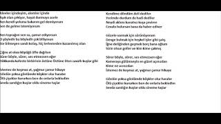 ADAMLAR-HİKAYE KARAOKE Video