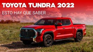 La Toyota Tundra 2022 estrena generación: adiós al V8, hola a un V6 twinturbo con opción híbrida