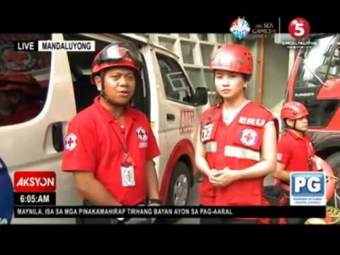 News5 Everywhere   MOBILE SINGKO   PHILIPPINE RED CROSS EMERGENCY RESPONSE TRAINING