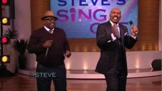 "STEVE HARVEY - Cedric and Steve perform when the ""Funk Hits the Fan"""