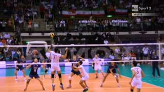 Volleyball World League Iran-Italy Trieste 2014
