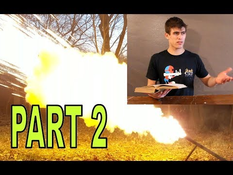Crazy 1933 chemical recipes PART 2! solid gasoline, thermite tracers, and more!