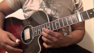 Si yo muero-Romeo Santos Guitar cover