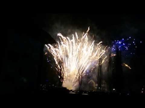 Pokaz fajerwerków Gołdap - 2016. 1080p/60 fps