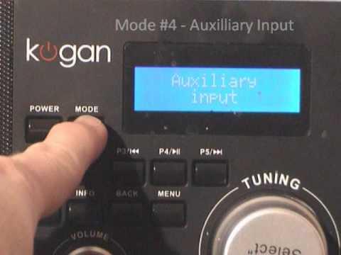 KOGAN REVIEW:  WiFi DAB+ Internet Radio