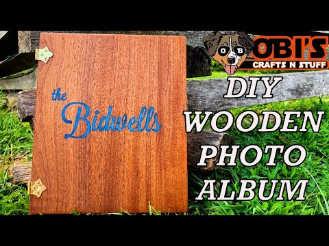 DIY Wooden Photo Album