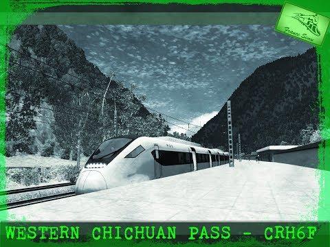 Train Simulator 2017/ Western Sichuan Pass/ Game Play 1080 p / 60 FPS