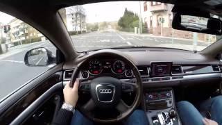 Audi A8L 6.0 W12 (2008) - POV Test Drive Country Road(Audi A8L W12 (2008, 331kW/ 450 PS/ 444 bhp) driven on German country roads. Audi A8L W12 (2008, 331 kW/ 450 PS/ 444 bhp) auf deutschen Landstraßen., 2015-02-16T10:47:23.000Z)
