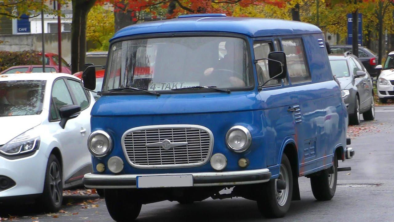 Ddr Kleintransporter Barkas B 1000 1 Auf Der Strasse Former Gdr Car On The Road