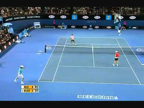 Thumbnail: Tennis comedy Funny - Federer Nadal Djokovic Stosur (HD)