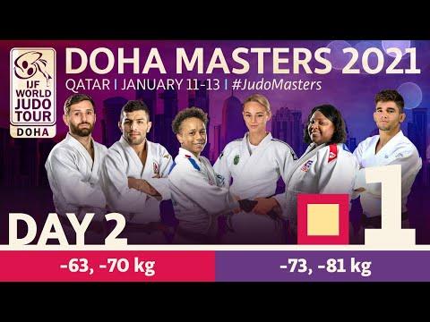 Day 2 - Tatami 1: Doha World Judo Masters 2021