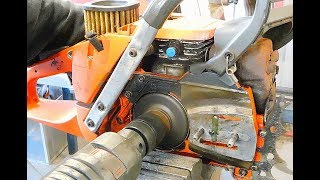Oil pump Husqvarna 372XP, 562XP crank bearings and other chainsaws to repair