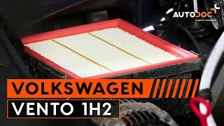 How to replace air filter VW VENTO 1H2 TUTORIAL | AUTODOC