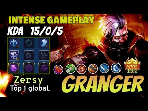 Granger Point Break Gameplay | Top 1 Global | Zersy - Mobile Legends | Giveaway In Description 👇