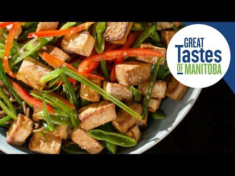 Crispy Tofu Noodle Bowl RecipeHealthy and Delicious!