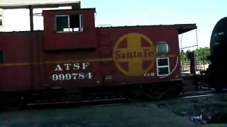Bnsf 2566 Local, End Of Train Caboose