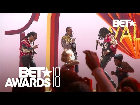Watch Migos Perform 'Walk It Talk It,' 'Stir Fry' Medley at BET Awards