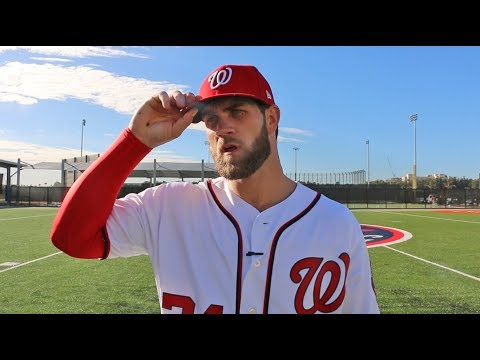 Bryce Harper on his weapons of choice