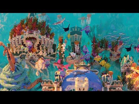 [Minecraft Timelapse] Neptunopolis - Underwater Map by CreativeBlocks | 4K 60FPS
