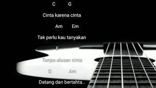 Chord Gitar Judika - cinta karena cinta