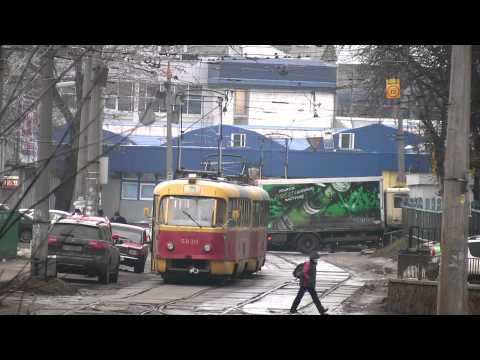 Kiev trams Tatra T3, route 18