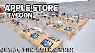 ACHETER L'APPLE STORE!! | Apple Store Tycoon - Roblox