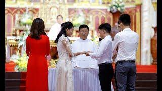 Trực Tiếp - Thánh Lễ Hôn Phối Giêrônimô Quang Trung & Têrêsa Bích Ngọc Tại Đền Thánh Bác Trạch