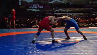 Спорт. Вольная борьба. Турнир Кожомкула-2018. День 2 Мат B (Часть 3)
