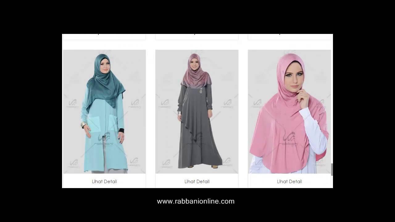 Katalog Jilbab Rabbani Terbaru 2016 Kerudung Gamis dan