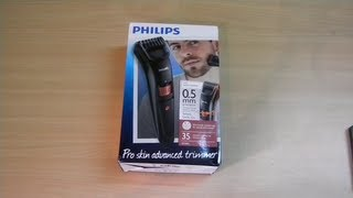 Unboxing of Philips QT4005/15 trimmer